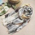 Free shipping Summer scarf female spring and autumn fluid summer all-match vintage scarf silk scarf women beach towel sun cape