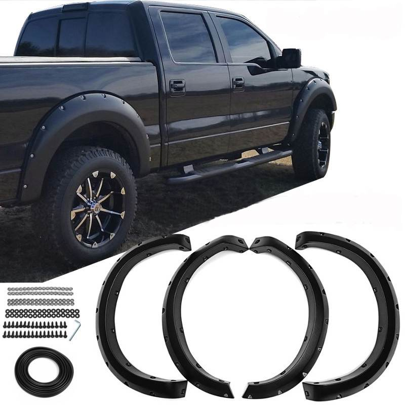 4 pcs Car For Fender Flares Arch Wheel For Ford 2009 2014