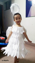 High-end girls Wedding Party Pageant Dress Baby feather fur dress Toddler Gowns Child party Dress vestido