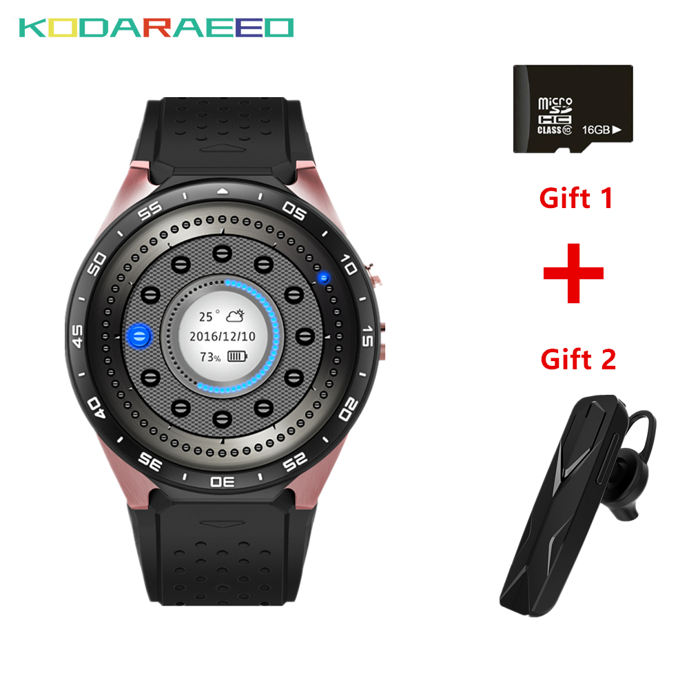 Smart Watch KW88 1 39 MTK6580 Quad Core 1 3GHZ Android 5 1 3G Smart Watch