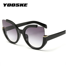 YOOSKE Sexy Cat Eye Sunglasses Women Bra