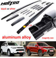 Hottest roof rack/roof rail/bar for Mitsubishi Outlander 2013-2019,aluminum alloy fixing,by screws,free drill hole,real strong