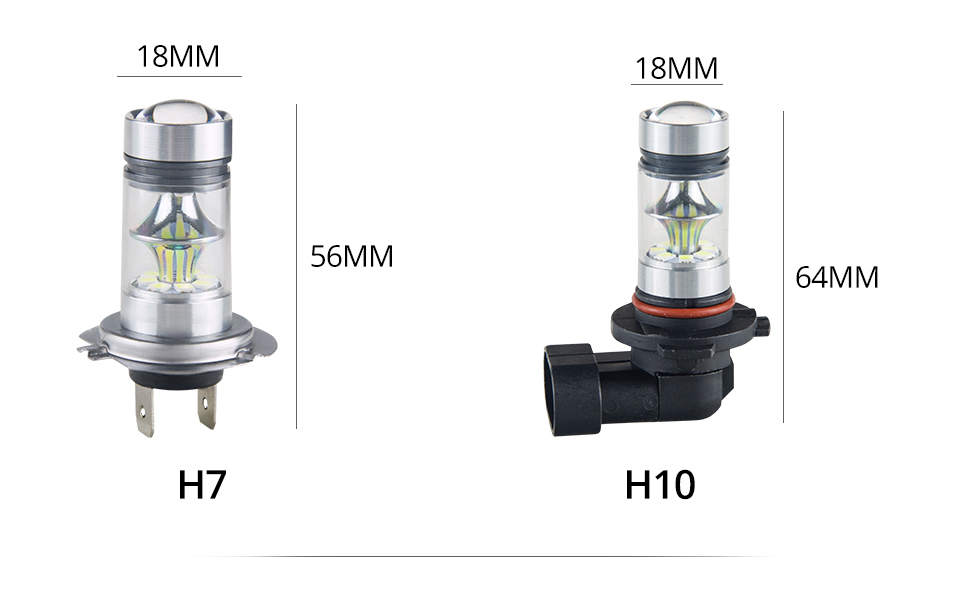 S&D MeeToo H7 H1 Led Fog Light H11 LED Car Bulbs HB3 9005 HB4 9006 SMD 2030 Auto Led Bulb Lamp 6500K Fog Lights Cars Driving Lamps (12)