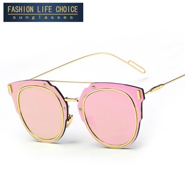 32606a3b69 2017 new de la manera gafas de sol de mujer de marca diseñador gafas de sol