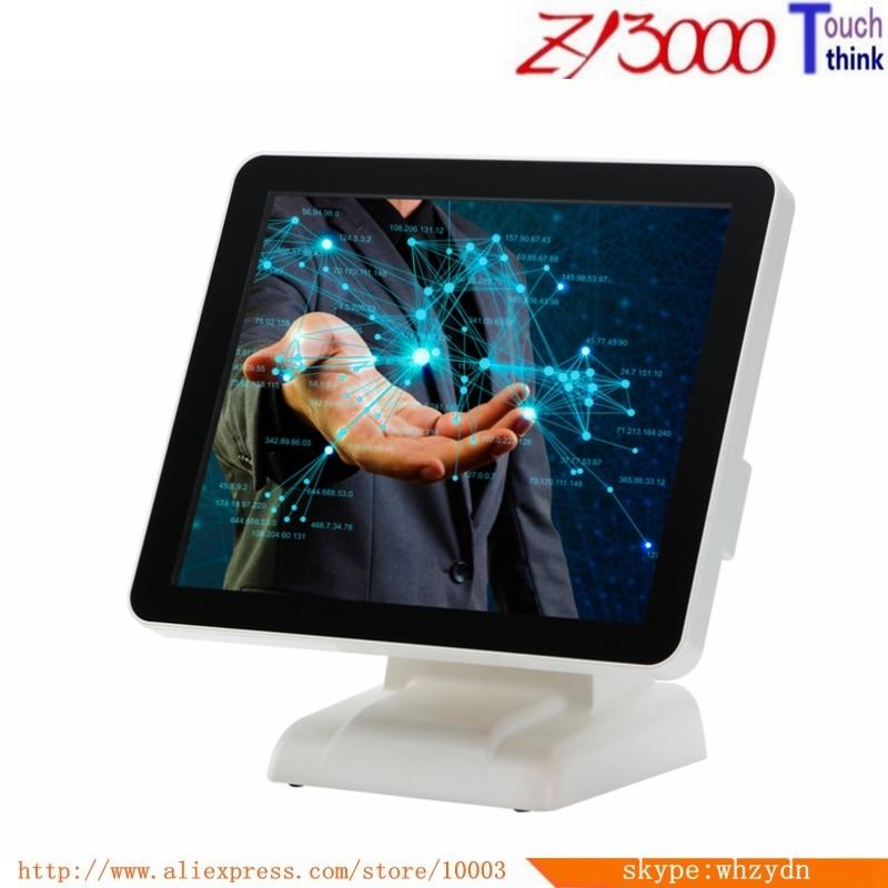 New Stock 17 Inch J1900 4G Msata 64G All In One Resistive Touch Screen Cash Register Restaurant