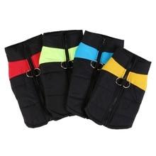 Зимняя одежда для щенков, дышащая хлопковая жилетка для собак для катания на лыжах, водонепроницаемая семейная Одежда для собак, домашних животных