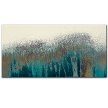 Turquoise Wall Art Canvas Paintings Abstract Graffiti On The Posters And Modern Decorative Pictures