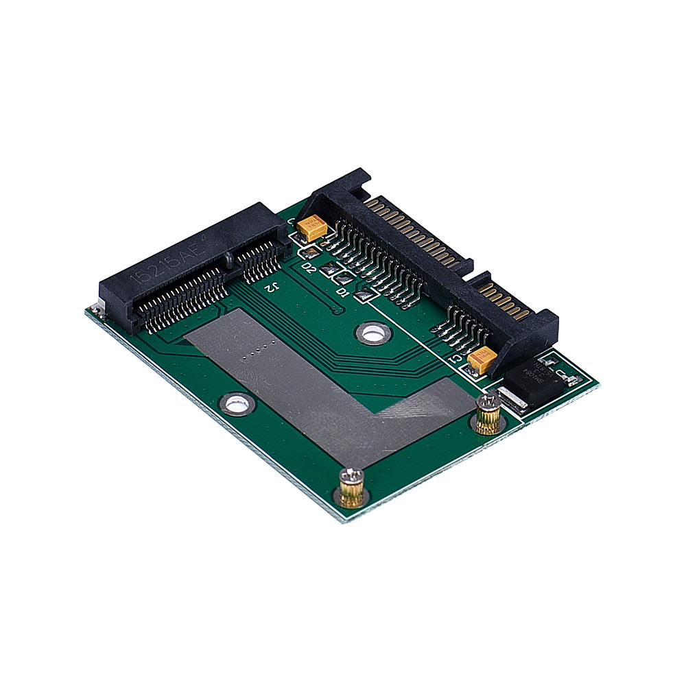 Factory price High Quality mSATA SSD To 2.5Inch SATA 6.0 Gps Adapter Converter Card for hdd drive Free Shipping&Wholesale 1 pcs