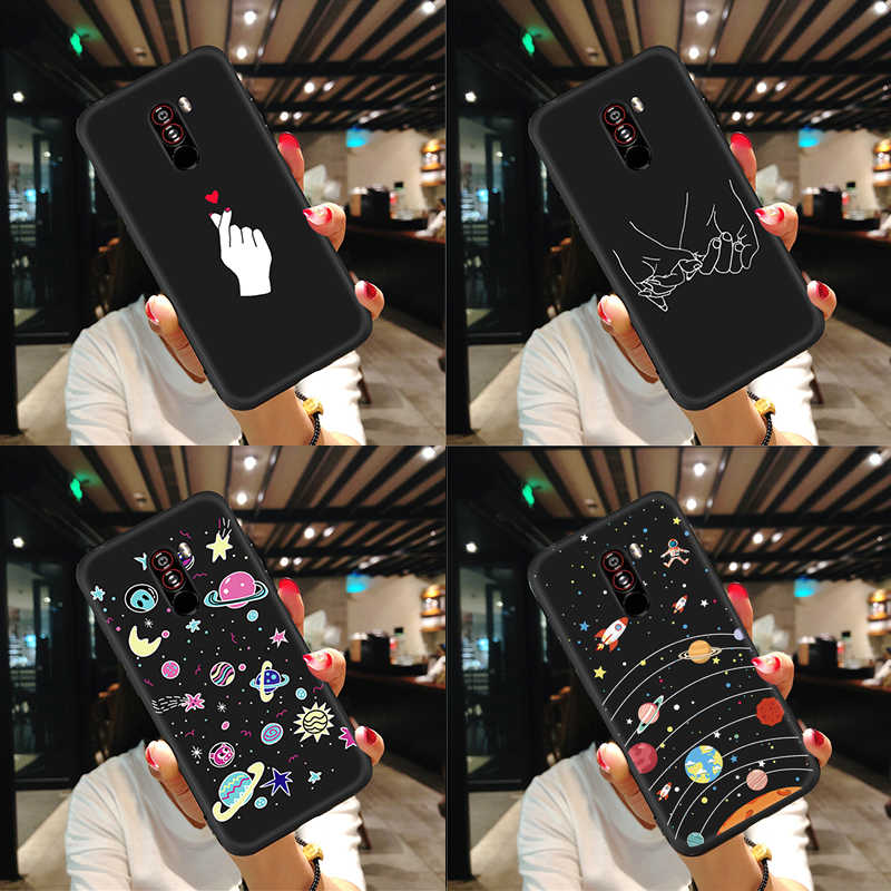 マット電話ケースシャオ mi 赤 mi 注 6 5 プロ 5 プラス 4X Pocophone F1 mi x3 mi x2S Max3 2 mi A2 mi 8 Lite mi 6 × 6 ソフト TPU Cople バッグ