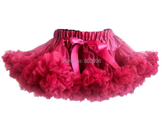 Hot sale 5 pieces/lot chiffon fluffy skirt tutu for girls PETS-147