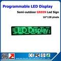 4 шт. зеленый p10 из светодиодов дисплей модуль полу-открытый из светодиодов движущихся знак из светодиодов дисплей электронный экран 16 - 96 pixels бегущий текст из светодиодов знак