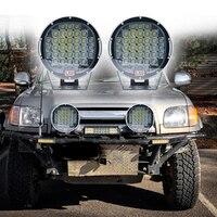 185w 9 Red Black Spot LED Work Light Off Road LED Light Bar 12v Driving Lights Super Bright for Jeep Cabin Boat SUV Truck ATVs