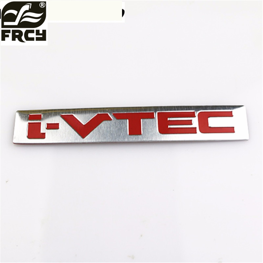 NEW CAR FOR i-VTEC iVTEC Sticker For Honda City CR-V XR-V HR-V Accord FIT Odyssey Stream Crider Greiz CIVIC Elysion Spirior Jade новый генератор подходит для honda accord odyssey 2 3l f20b 2 0l oem 31100 p5m 0030