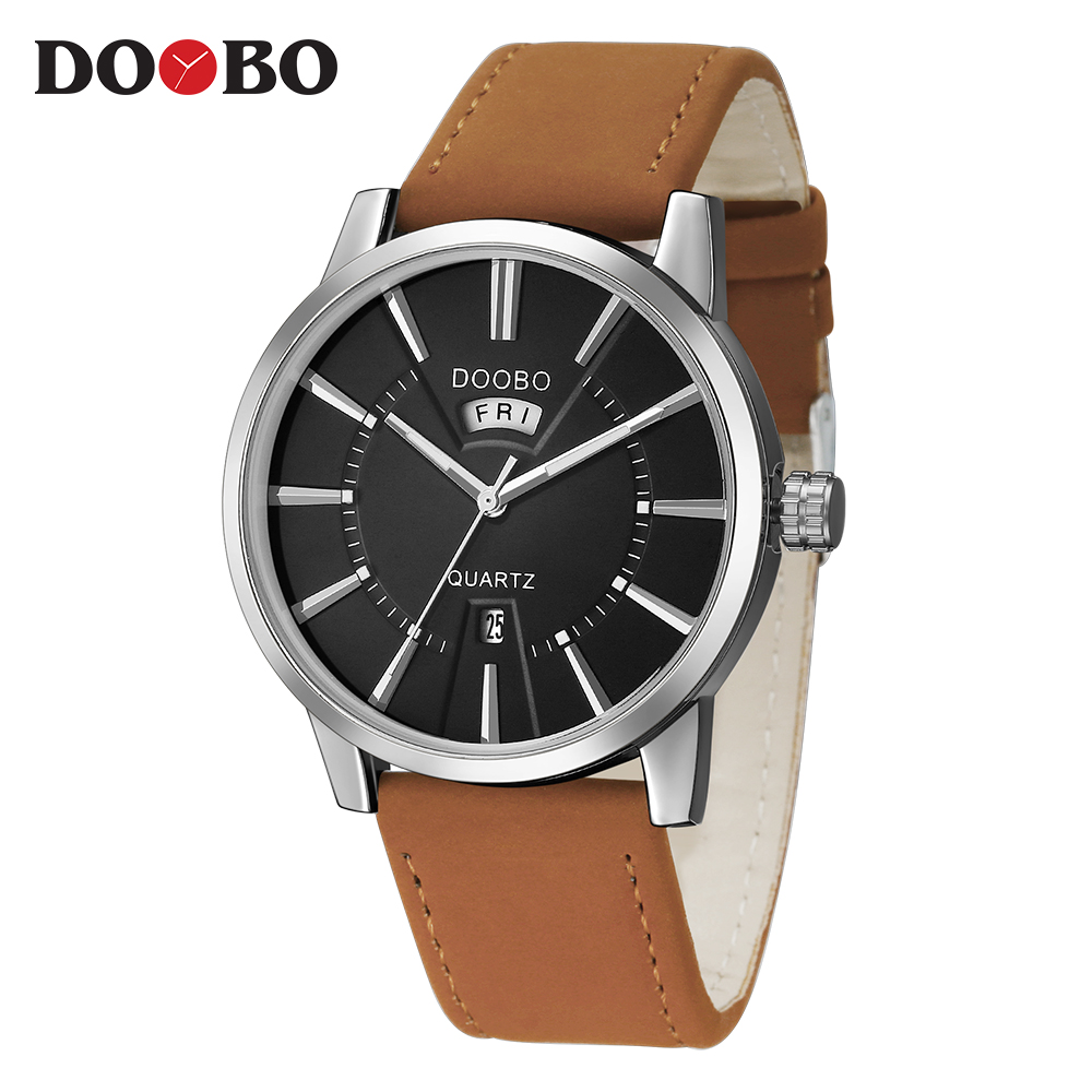DOOBO Watch Men Military Relogio Masculino Quartz-Watch Mens Watches Top Brand Luxury Sport Wristwatch Mens Double Calendar natura siberica детское жидкое мыло детское жидкое мыло