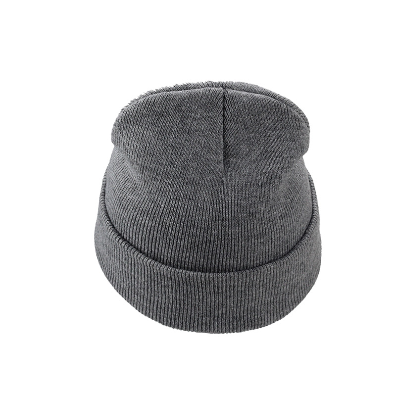 Letter True Casual Beanies New Winter Hat Women Man Hat Skullies Beanies Warm Hat Knitted Cap Hats For Men  Simple Warm Soft Cap