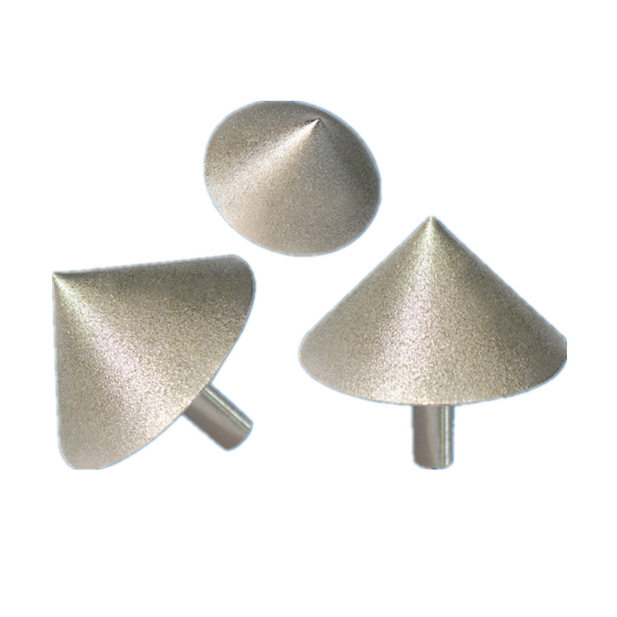 Diamond grinding wheel 35mm reamer electroplated cone chamfering diamond grinding wheel 35mm reamer electroplated cone chamfering conical grinding head ceramic tile glass grinding tool in abrasive tools from home doublecrazyfo Gallery