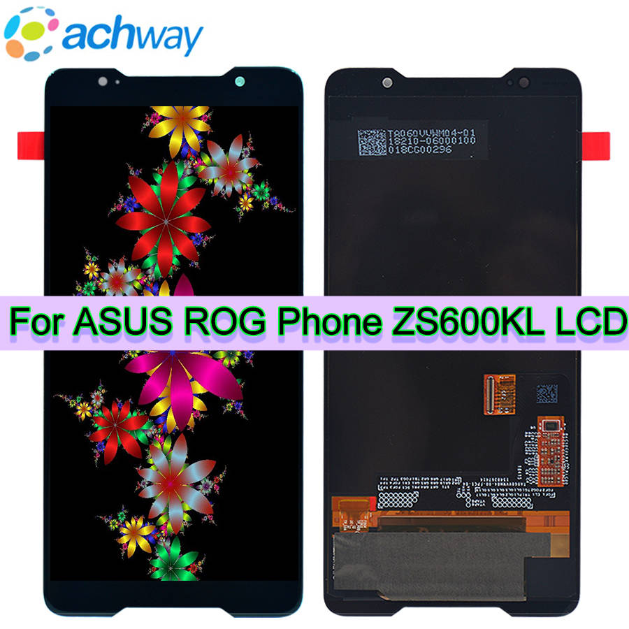 Original AMOLED Screen For ASUS ZS600KL LCD Display Digitizer Touch Panel Screen Assembly For 6 0