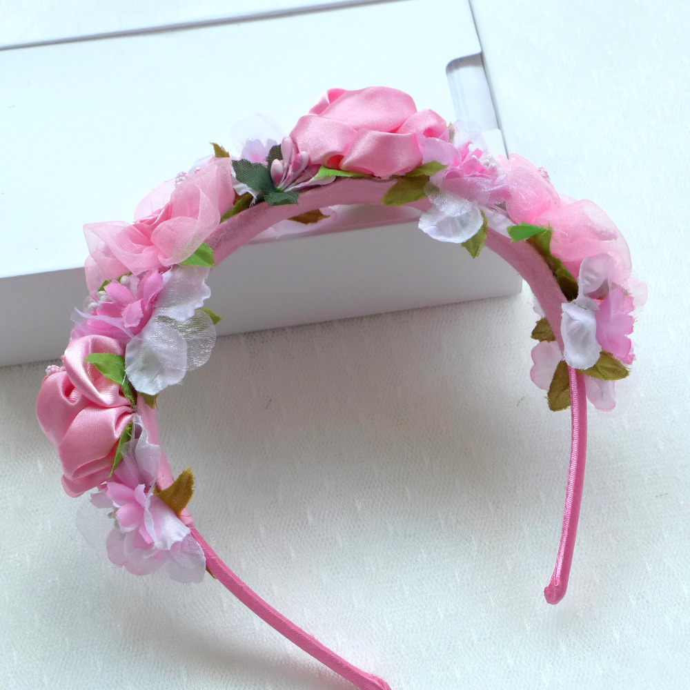 Aliexpress Buy New Design Women Handmade Flower Crown Wedding
