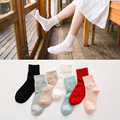 7 Colors New Autumn And Winter Woll Socks Pure Colors Cozy Women Warm Socks Knitted Socks Free Shipping