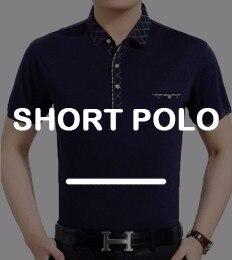 2018 casual manga corta Hombre de negocios camisas a cuadros camisa de polo  de la marca de moda diseñador hombres tenis polos camisa social 7058 632a96d63cf80