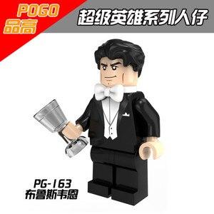 Image 2 - Single Sale Batman Bruce Wayne Riddler Alfred Barbara Penguin Gordon Robin Harley Quinn Building Compatible With Lego Movie