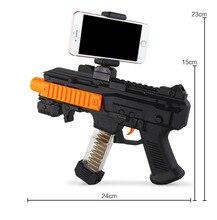 Blueloong 2018 новые Портативный Bluetooth AR-пистолет новый стиль 3D VR игры игрушки AR Игры Пистолет для iOS и Android iphone