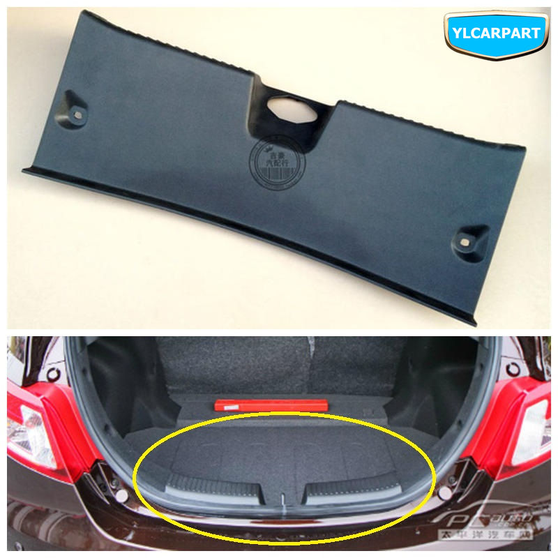 For Geely Emgrand7-RV,EC7-RV,EC715-RV,EC718-RV,EC-HB,hatchback,HB ,Car Trunk Lock Cover Plate,threshold