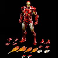 For collection 1/12 Scale Alloy Iron Man Movable MARK 7 MK7 MKVII Toy Action Figure Collecte figure Doll Model
