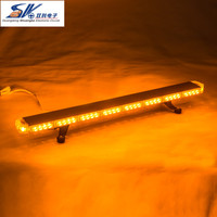 12V 24V 88pcs LED warning Emergency Recovery Wrecker Flashing Beacon Strobe Light Bar Amber and other color avaible