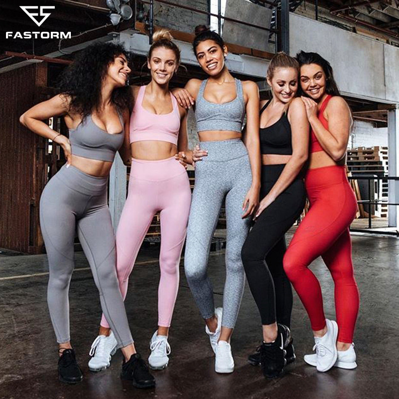 2019 Summer Shorts Hollow Out Vest Crop Top Slim Femme Sexy Fitness Stretch Women Mujer Gym Sport Yoga Sets High Waist Leggings Home