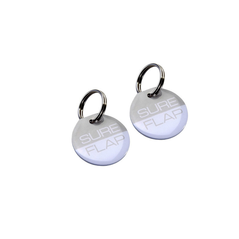 2PCS chip smart feeder accessories electronic chip pet collar identification chip cat dog identification card