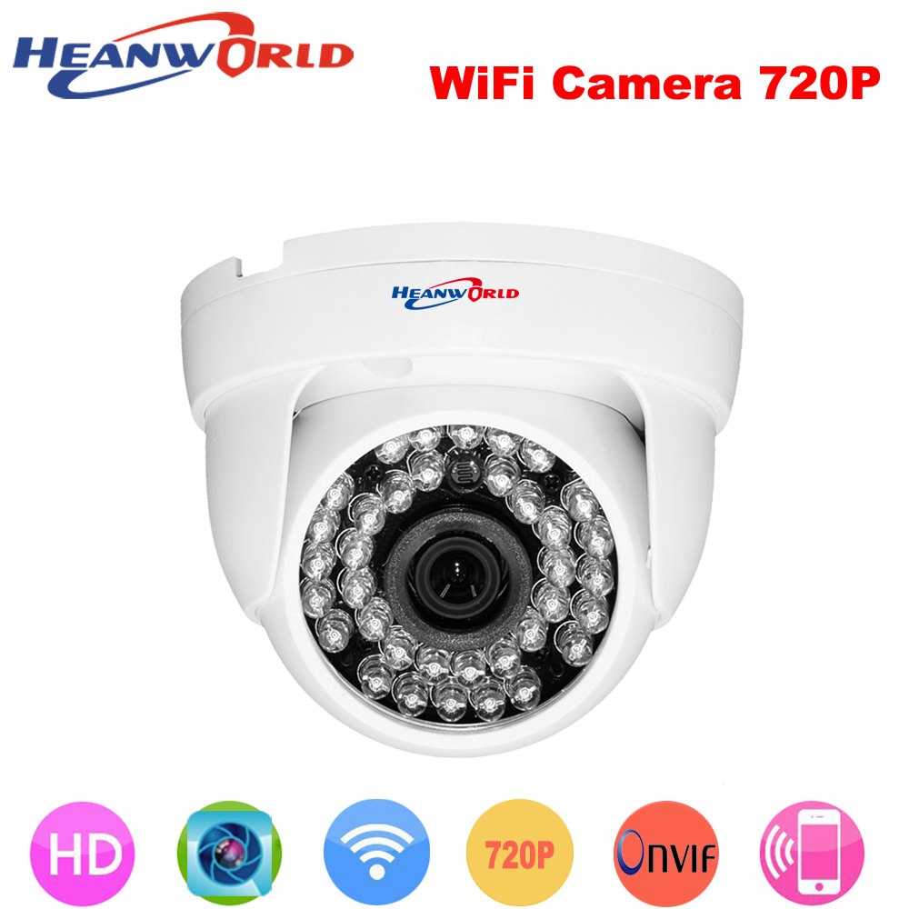 1.0MP 720P Wireless Wired IP Camera Wifi built-in antenna Night Vision ONVIF Home use Video Security Camera CCTV Network IP Cam ccdcam ec ip2541w m jpeg image compression wireless wired ip camerawireless wired ip camera