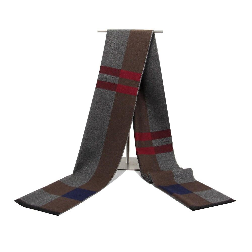 2017New Plaid Männer Schal Warme Winter Schal Unisex Männer Decke Schals Weichen Kaschmir Schal Schals Große Luxus Marke Tropfen Verschiffen