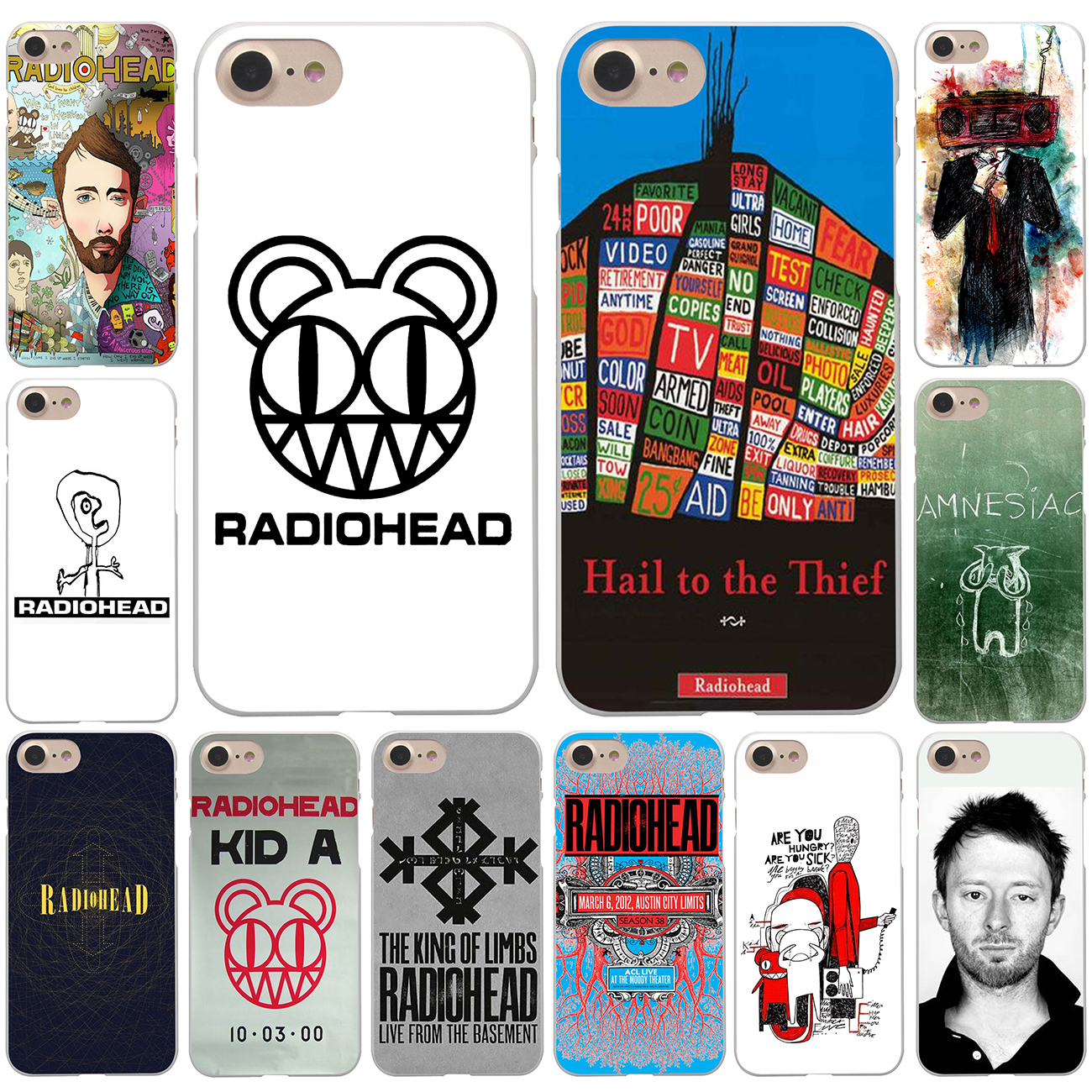 radiohead iphone 7 case