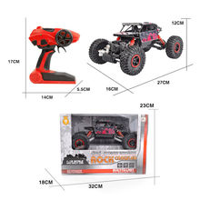 RC Car 1:18 4DW 2.4GHz Rock Crawlers Rock Climbing Car Speed Off-Road Vehicle Toys Kids Gift