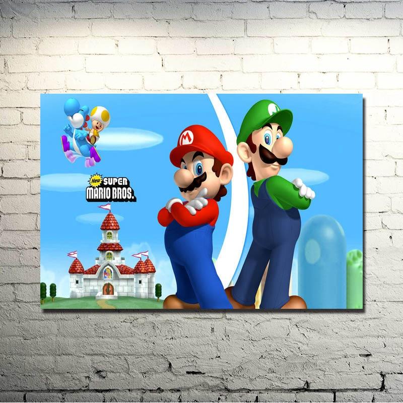 poster wall art home decor photo print 24x24 inches Super Smash Bros