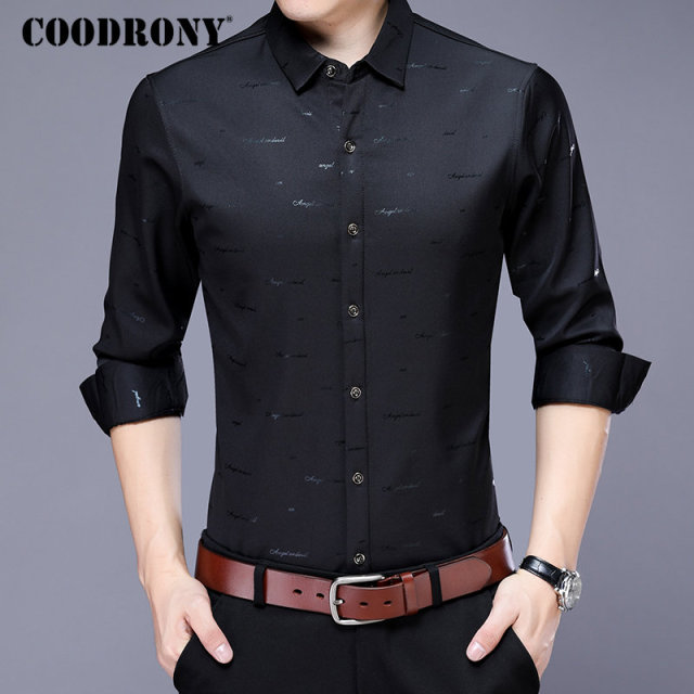 Men Casual Plus Size Long Sleeve Brand Autumn New Arrival Cotton Modern Elegant Shirt