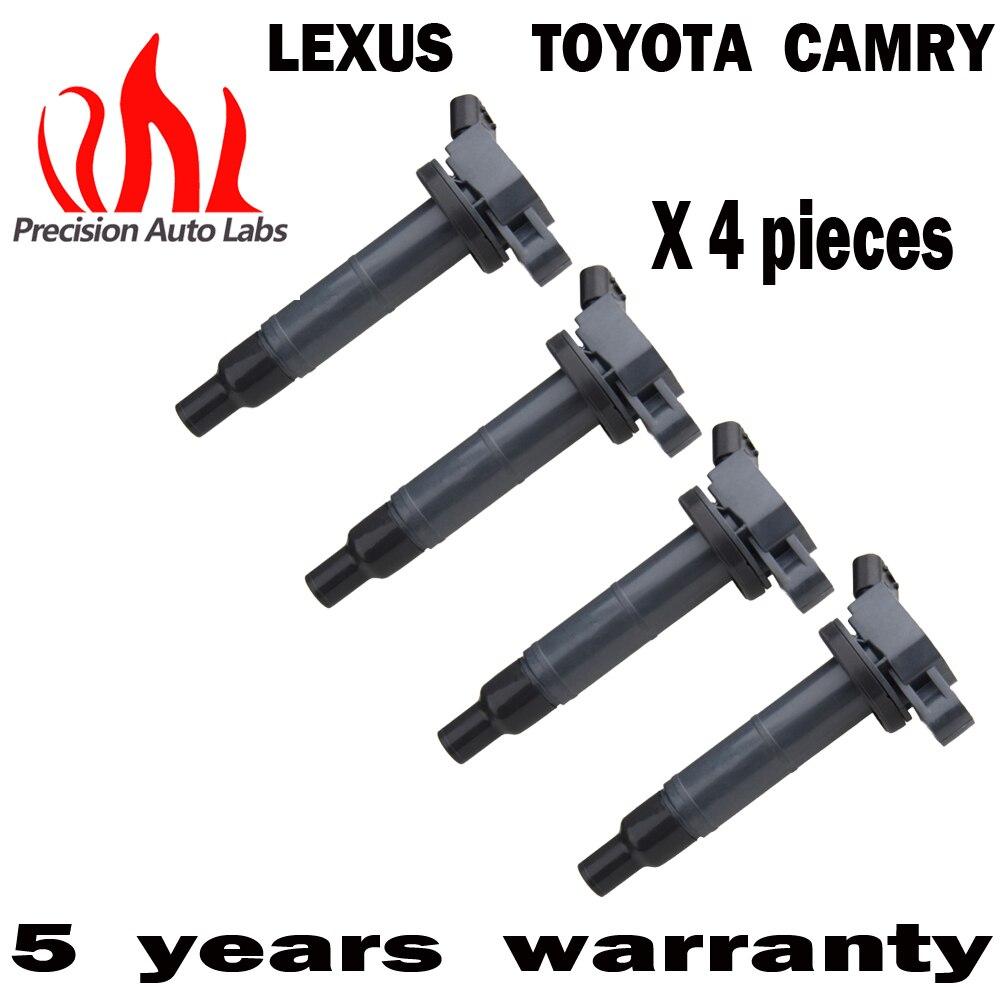 Точность автоматической LABS набор из 4 катушки зажигания плагин обновления для различных транспортных средств 4 pin 2.4L L4 UF333 C1330