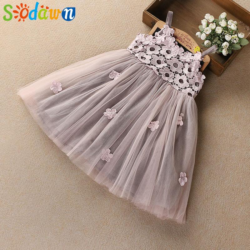 HTB1AXvXfyCYBuNkHFCcq6AHtVXah - Sodawn 2018 New Children Clothing Fashion Girls Dress Lace Fluffy Pop Princess Dresses Baby Girls Clothing Summer New Kids Dress