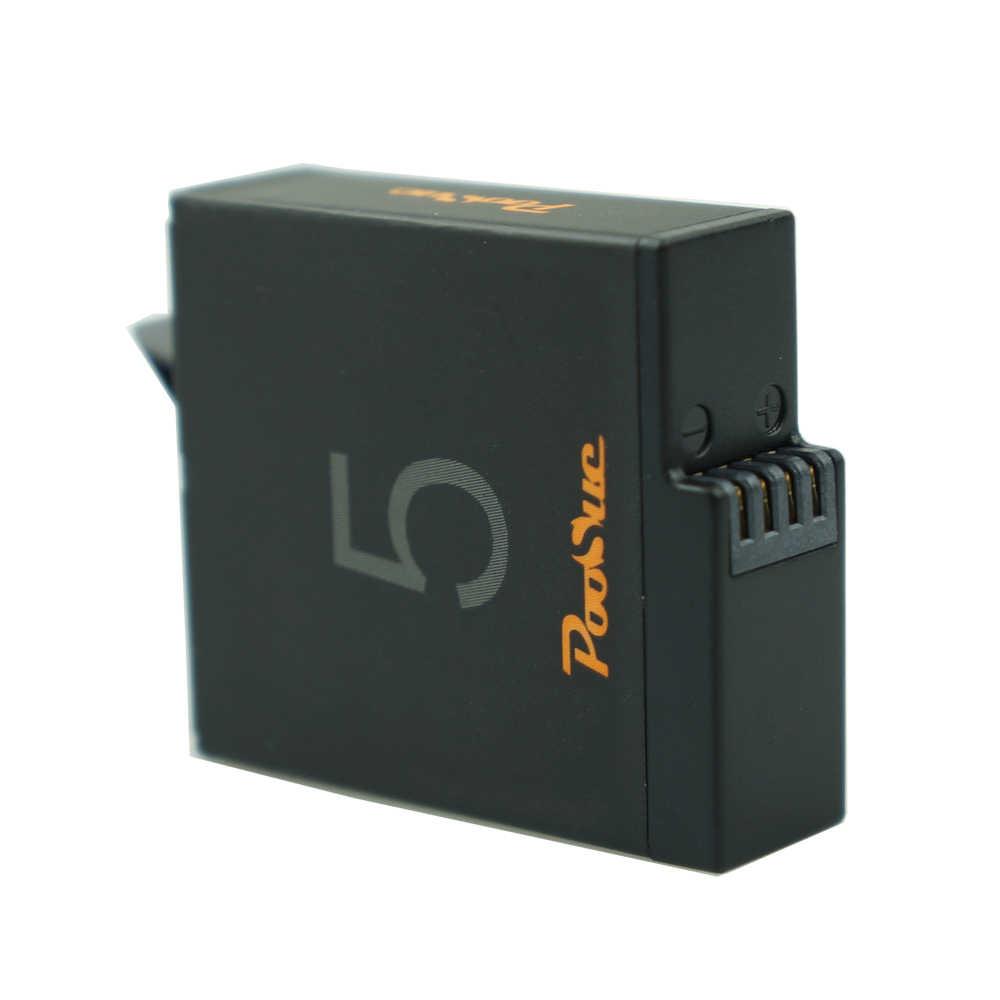 3x AHDBT501 AHDBT-501 الذهاب برو Hero5 6 Hero7 البطارية + شاشة الكريستال السائل شاحن USB مزدوج ل Gopro بطل 5 أسود Hero6 7 عمل كاميرا