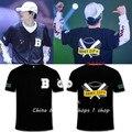 BTS пластин молодежь концерт в Японии вокруг SUGA JIMIN Jiuguo с Чжиминь Пу Тянь Футболки