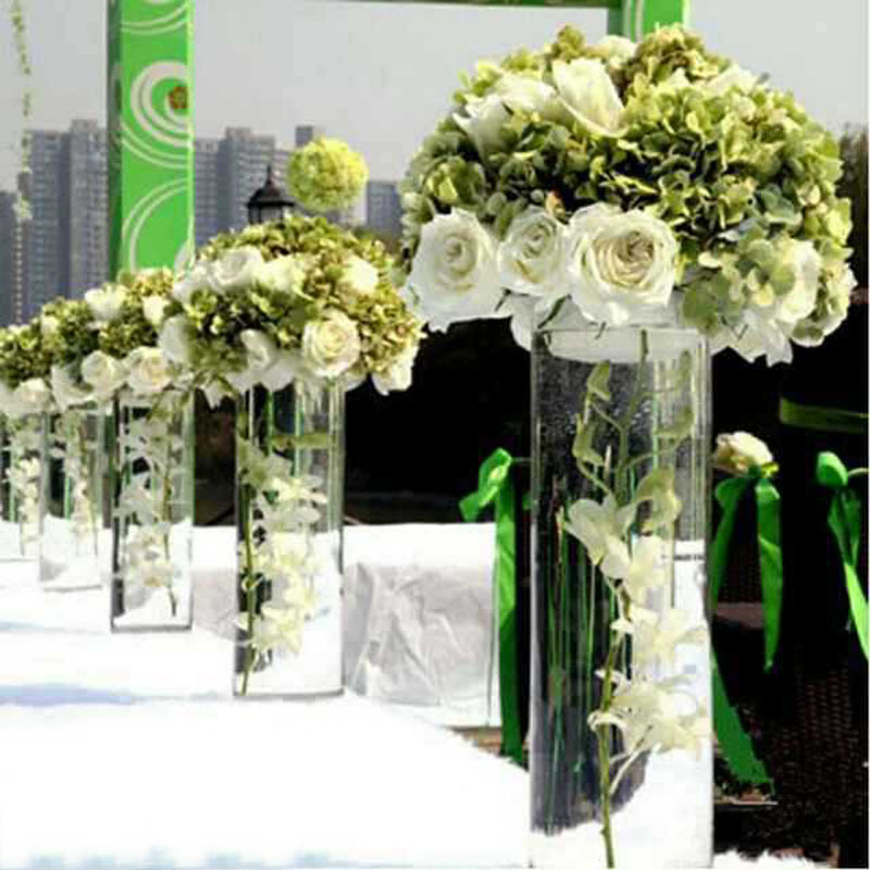 AliExpress & US $17.48 32% OFF Tabletop Vase Wedding Flower Vase/Stand 3PCS Table/Wedding Centerpieces Acrylic Flowers/Floor Vases For Party Decoration HQ06-in ...