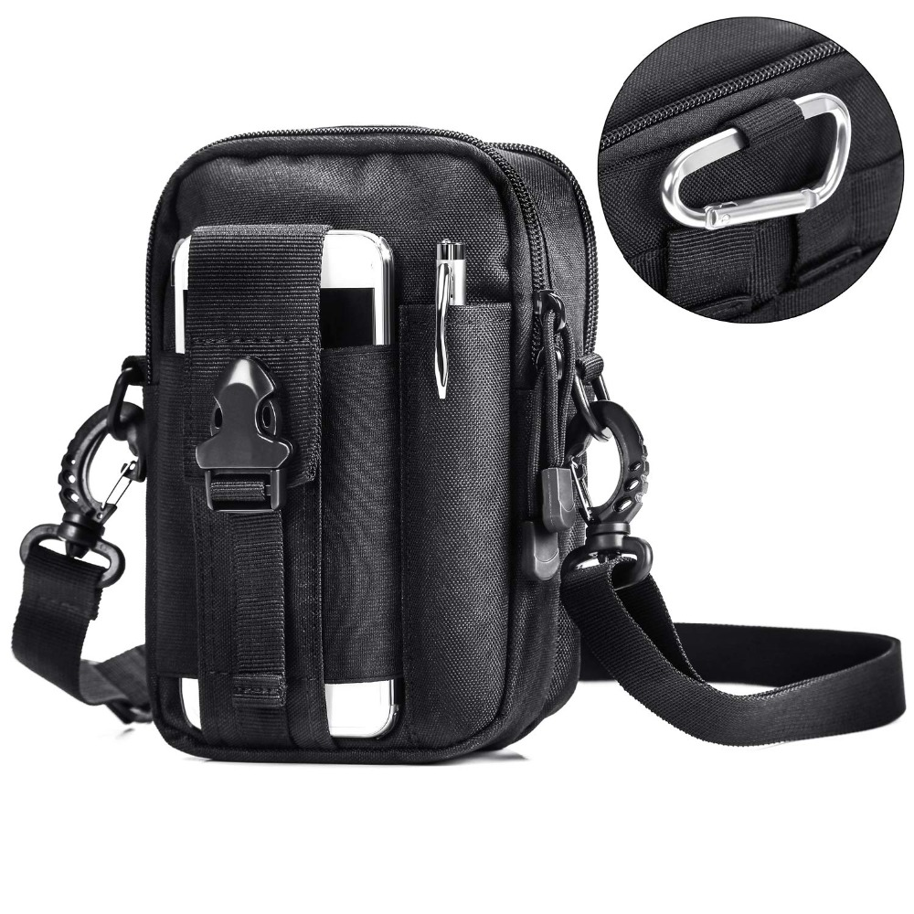 Multifunctional Camping Waist Pack Climbing Emergency Molle Survival Kits Outdoor Tactical Bag Wallet Pouch Outdoor Sport Pack (21)