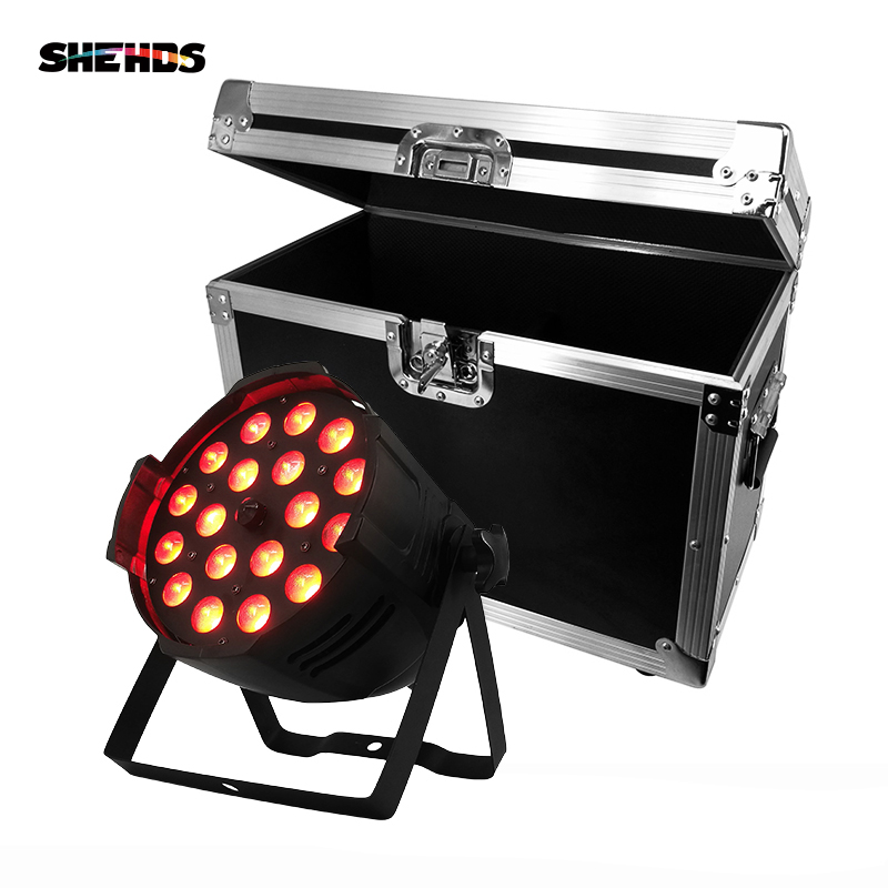 Zoom LED Par 18x12W RGBW 4in1 Zoom Aluminum Alloy Perfect Lights For Clubs Theaters Churches Concert Productions And Lighting