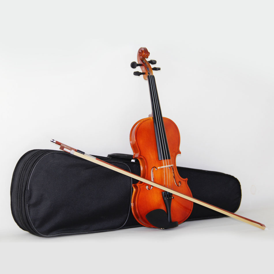 Master Violin High quality, bailing violin 1/4 3/4 4/4 1/2 1/8 violin Send violin case,free shipping free shipping high quality 4 4 violin send violin hard case handmade white black electric violin with power lines