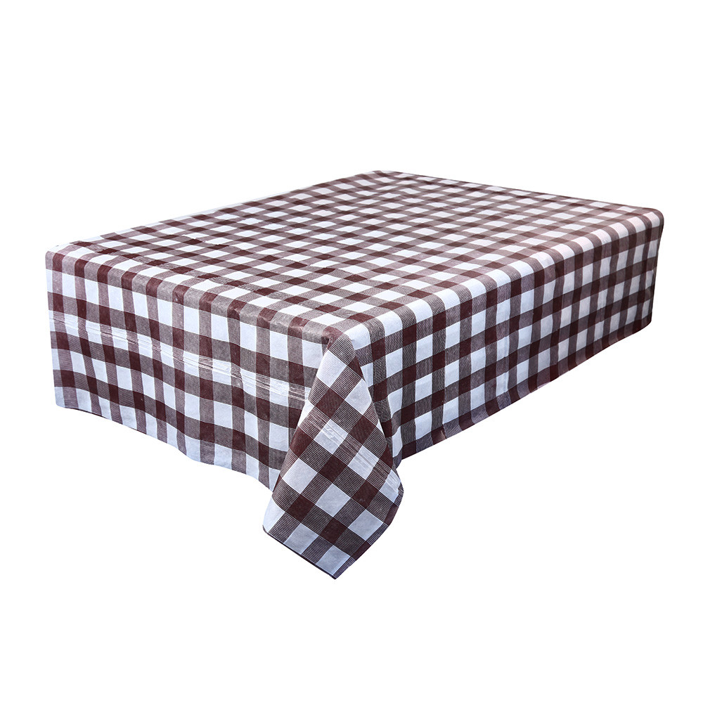 Plastic OBLONG TABLECOVER Table Cloth Colour BBQ Catering Events Party Tableware