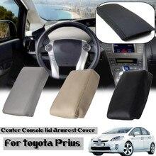 PU Leather Car Center Console Armrest Cover Auto Arm Rest font b Box b font Pad