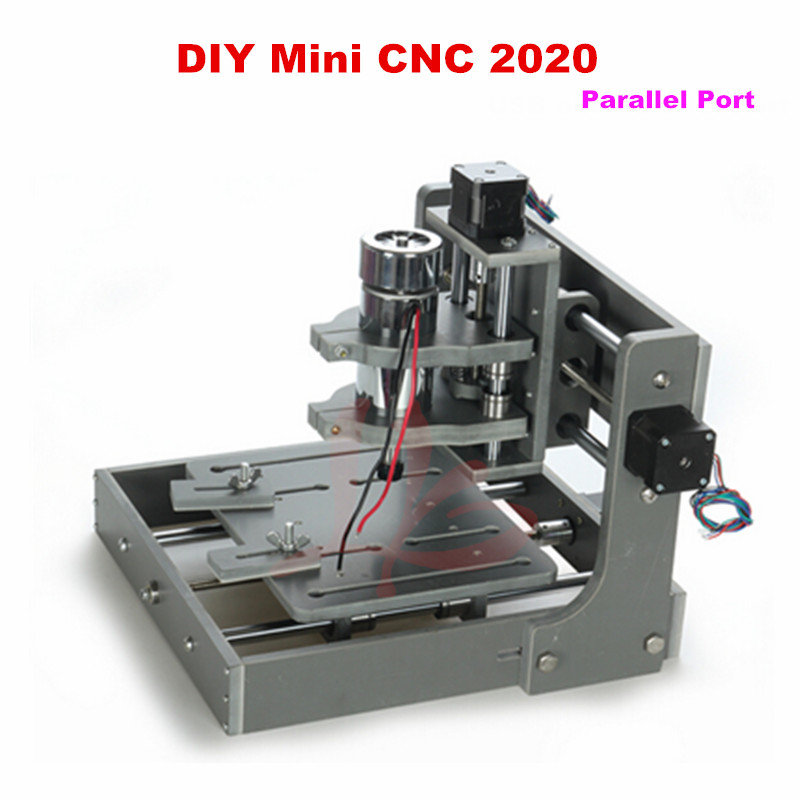 DIY CNC Router machine 2020 Engraving Drilling and Milling Machine with Parallel port cnc 5axis a aixs rotary axis t chuck type for cnc router cnc milling machine best quality
