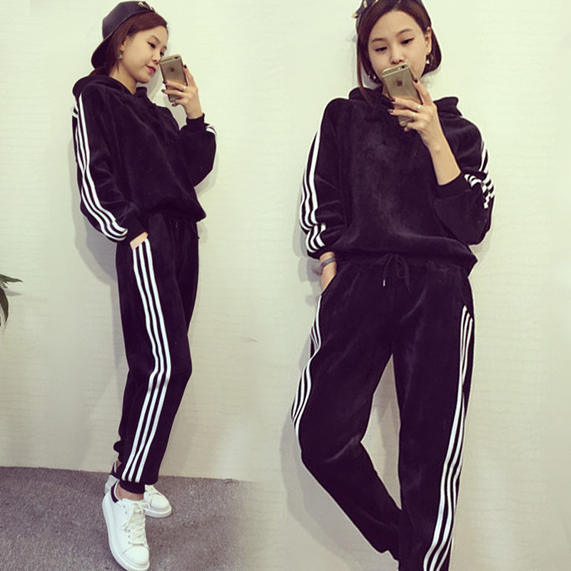 Aliexpresscom  Buy Qooth Casual Sweatshirts Set Women -5272