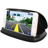 Car Phone Mounts GPS Holder for iPhone X 7 8 Plus Dashboard GPS Holder Mount in Vehicle Cell Phone Holder for Samsung Galaxy S8